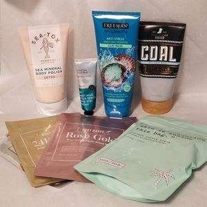 Beauty Mask Glowing Skin Scrub / Mud LOT NEW